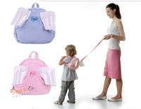 (缺貨)香港孕婦及嬰幼兒專門店/嬰兒童防走失雙肩包/天使翅膀造型背包/學步帶/寶寶小書包 (2色選)/#YE016