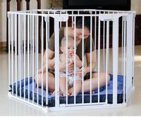(向日葵小屋)出口歐洲 兒童 嬰兒 游戲圍欄 寶寶 爬行墊 學步護欄 安全柵欄 防護欄 可延伸 多邊形 自由組合 自動回關 特價$699.00包棉墊,鑽墻配件