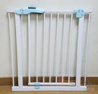 (今期震撼價只售$280/個)全新升級版BABY SAFE嬰兒寵物樓梯安全門欄門閘75-205cm、65-205cm門闊適用 藍綠色門較  105226