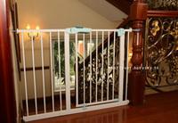 (今期震撼價只售$250/個)全新升級版BABY SAFE嬰兒寵物樓梯安全門欄門閘75-205cm、65-205cm門闊適用 藍綠色門較  105226