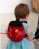(向日葵小屋)香港孕婦及嬰幼兒專門店/可愛甲蟲造型/小書包/嬰兒防走失帶/學行帶/嬰兒小揹包/兩用/#124