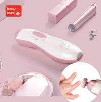 (向日葵小屋)香港孕婦及嬰幼兒專門店/babycare嬰兒磨甲器/超靜音/美甲器/寶寶指甲鉗/智能芯片/夜視燈設計 105523