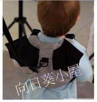 (向日葵小屋)香港孕婦及嬰幼兒專門店/蝙蝠俠造型/防走失學行帶/嬰兒小揹包/兩用/# 203