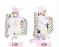 已售完 ((向日葵小屋)) 新款 天鵝絨 嬰兒側睡枕 新生兒睡姿定位枕 糾正扁頭枕 側翻枕 0203