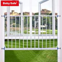 (向日葵小屋)香港孕婦及嬰幼兒專門店/兒童飄窗護欄/防跌窗護欄/嬰兒安全窗欄/門欄可加長到2.35M(包速遞送貨) /#0247