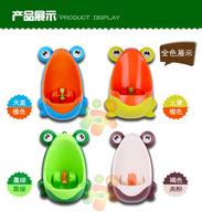 兒童青蛙企廁男孩小便器 吸盤式 小便池 兒童尿壺 學習厠所 男仔戒片必備(下單時請備註顏色)
