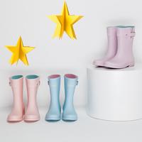 L-Rain春夏女士 雨靴 水鞋 防水 雨鞋 防滑中筒 (三色)