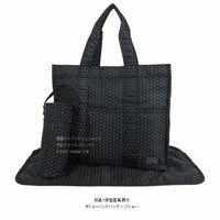 實用出口品牌媽咪袋 送隔尿墊/奶樽袋  黑色波點現貨可交收