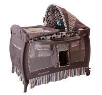 言B小店 - 獨家新款BabyTrend 實用BB網床嬰兒床送音樂盒 (男仔款)
