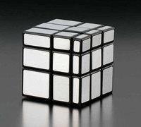 聖手魔方 3X3 金銀色 鏡面 扭計骰 Mirror Cube
