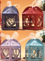 新款通花回禮糖盒18 裝糖果 結婚回禮小禮物 包裝盒袋