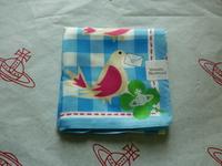 全新Vivienne Westwood淺藍色飛鴿Logo手巾