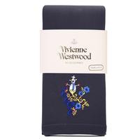 全新Vivienne Westwood深灰色雪人Logo絲襪長褲