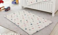 韓國直送- 表面純棉3層防水床墊 / 自理母嬰/ 防尿/ 1y+2y+3y+4y+5y+ 戒片 星星