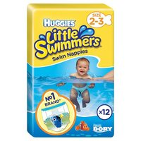 英國直送 Huggies Swimmer - BB紙泳褲 (游水片)/ 夏日游水用品 / BB兒童幼兒/ S 0m+ / DORY