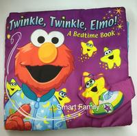 Softplay 立體觸覺ELMO布書-Twinkle, Twinkle, Elmo 晚安星星6m+
