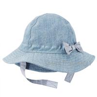 美國直送 Carter's 兒童幼兒太陽防曬綿質帽 (0 - 3 mths) 夏日戶外游水用品 / BB