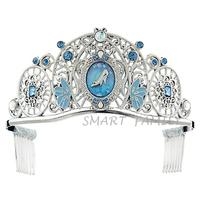 美國直送- 迪士尼玻璃鞋兒童幼兒皇冠頭箍髮箍 冠冕飾品配飾 Cinderella /DISNEY