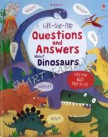 Usborne Lift-the-flap Q&A about Dinosaurs 大本揭揭書 - 恐龍問與答 / 機關書 / 科普書 英文