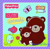 Fisher Price Counting Cute Animals 嬰兒 bb玩具 益智圖書 響紙 早教 英文數字動物 布書 特價$25