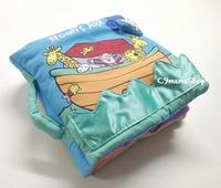 熱賣 得獎 英文布書 Baby Blessing Noah's ARK 立體觸感響紙 手提枕頭聖經故事 $45