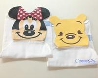 出口 米奇 維尼 Disney bb用品 童裝 紗布 紗巾 吸汗巾 隔汗巾 兒童 墊背巾 特價$12件