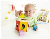 德國 HAPE 彩色 形狀 積木盒 bb益智玩具 遊戲 蒙特梭利 聖誕禮物 幼稚園 小手肌肉訓練 $125