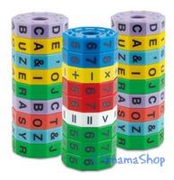 Popular Playthings Magnetic Letter Wheel 英文 便攜 匙扣 扭計 骰 學習 資優訓練  串字 英語 單詞 拼字 認字 游戲 益智 玩具 $36