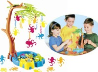 出口 玩具 Monkeying Around 小猴子蕩秋千 懸掛猴子 兒童 Party 聚會 派對 桌面 遊戲 清貨$33