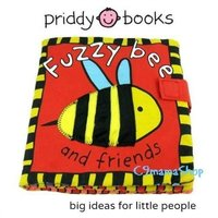 Priddy Books Fuzzy Bee 出口 嬰兒 玩具 益智圖書 BB 立體 響 紙 觸感 早教 英文 布書 $26