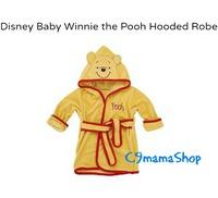 Disney bb用品 Winnie Pooh維尼 造型 兒童浴巾 初生嬰兒 包巾 抱被 沙灘毛巾 保暖衣 $68