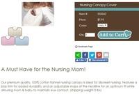 出口 bb用品 Nursing Canopy 純棉 低敏 哺乳 授乳 母乳 圍巾 餵奶衣 披肩 床墊 $36一件包郵