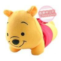 日本Disney bb用品 維尼 Winnie Pooh 多功能 公仔 枕頭 枕巾 包被 冷氣被 嬰兒 安撫 抱巾 抱毯 $39