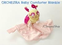 出口 法國 bb低敏感 純棉 絨 粉紅甲蟲 嬰兒 安撫巾 睡巾 毛公仔 玩具巾 $18件