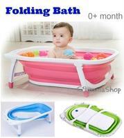 出口 安全認證 大號 bb浴盆 嬰兒 兒童 折叠 折疊 加厚塑料 新生 浴缸 洗澡盆 $198
