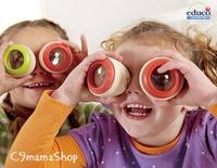 德國 Educo Eye Spy 神奇 多棱鏡 萬花筒 蜂眼 兒童 情人 禮物 早教 益智 學習 bb 玩具 $12個