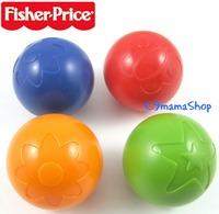 出口 Fisher Price 費雪 沙沙聲 寶寶 手抓球 搖鈴 早教視覺感官認知球 洗澡 嬰兒玩具 換購$4個