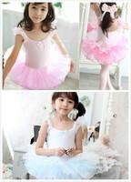 兒童芭蕾舞裙 / 兒童舞蹈服 / 演出服 / 吊帶連體跳舞服