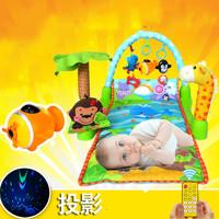 嬰兒熱帶森林音樂健身器 / 腳踏遊戲爬行毯