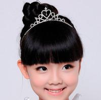兒童皇冠水晶頭箍 / 女童禮服髮飾 /兒童髮飾