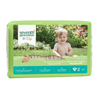 Seventh Generation - Baby chlorine free Diapers 35CT stg 2 無氯防敏嬰兒紙尿片 12-18磅 36片