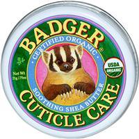 Badger - Cuticle Care, Soothing Shea Butter, 0.75 oz 有機認證修護指甲膏