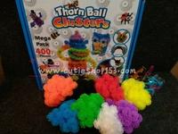 玩具diy拼插粘粘黏黏毛毛球 #166033