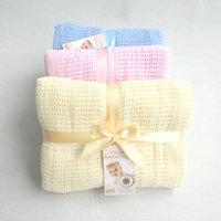 QTeeShop –嬰幼兒洞洞毯純棉透氣毯 (L)– PNA395