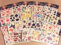 QTeeShop-單張卡通紋身印水貼紙-PNK009