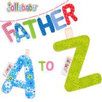 QTeeShop – 嬰兒用品多功能字母早教布書/字母床圍 玩具– PNA418