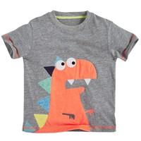 QTeeShop – 男童裝卡通恐龍短袖上衣 – TSB032