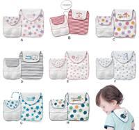 QTeeShop - (限定優惠3件或以上$14/件) 男女童裝 嬰兒用品 4層紗布雙面純棉吸汗巾 (一條裝) - PNC844