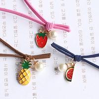 QTeeShop-女裝水果聖誕吊咀髮繩-S28K05