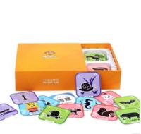(限定優惠) QTeeShop - 3D早教互動學習咭(動物系列)- PNK004